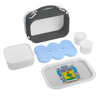 Montez Coat of Arms - Family Crest Lunchboxes