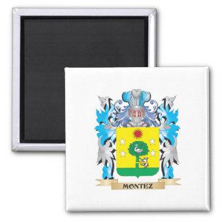 Montez Coat of Arms - Family Crest Magnet