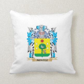 Montez Coat of Arms - Family Crest Pillows