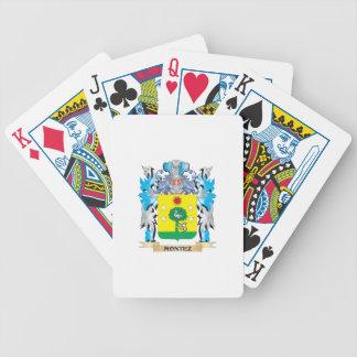 Montez Coat of Arms - Family Crest Poker Cards