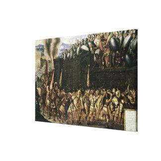 Montezuma Canvas Print