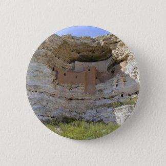 Montezuma Castle Cliff Indian Pinback Button