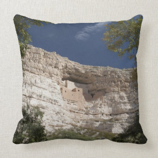 Montezuma Castle National Monument, Arizona 2 Throw Pillow