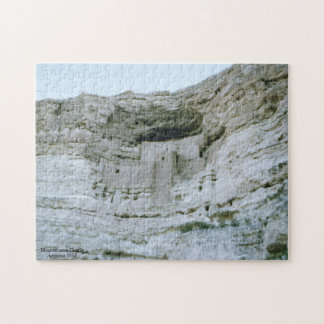 Montezuma Castle National Monument Vintage Jigsaw Puzzle