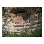'Montezuma castle Pueblo Village Indian Ruins, Postcard