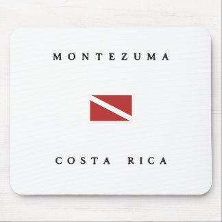 Montezuma Costa Rica Scuba Dive Flag Mouse Pad