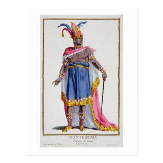 Montezuma, el emperador de México (1466-1520) 1780 Tarjeta Postal