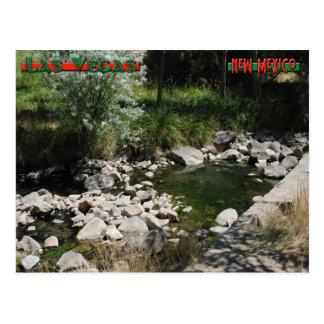 Montezuma Hot Springs Postcard