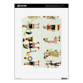 Montezuma II (1466-1520) as represented in an anon Skin For iPad 3