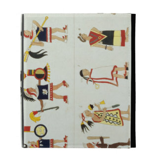 Montezuma II (1466-1520) según lo representado en