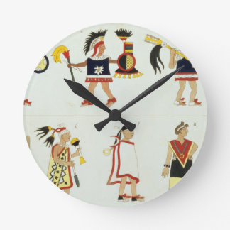 Montezuma II (1466-1520) según lo representado en  Relojes