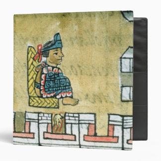 Montezuma II , from the 'Florentine Codex' 3 Ring Binder