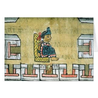 Montezuma II , from the 'Florentine Codex' Card