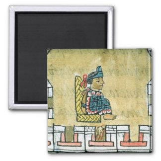 Montezuma II , from the 'Florentine Codex' Magnet