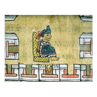 Montezuma II , from the 'Florentine Codex' Postcard