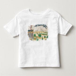 Montezuma II  watching a comet, 1579 Toddler T-shirt