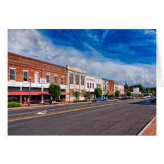 Montezuma Main Street - Georgia Card