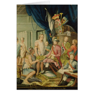 Montezuma Tarjeta De Felicitación