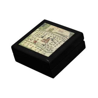 Montezuma's Aztec Empire, Antique World Map, 1577 Gift Box
