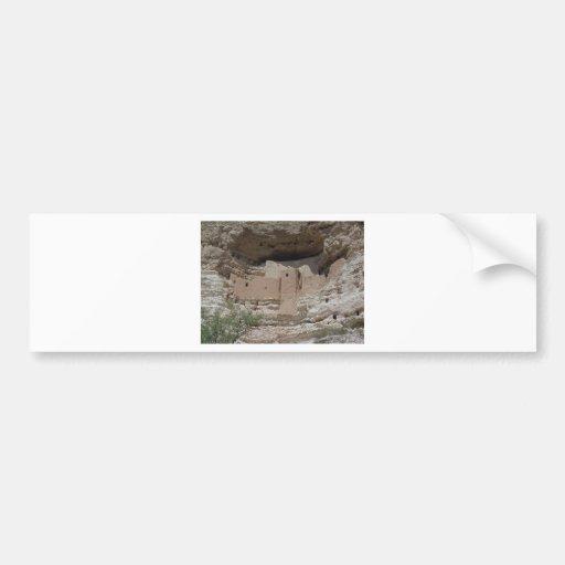 MONTEZUMAS CASTLE 3 CAR BUMPER STICKER