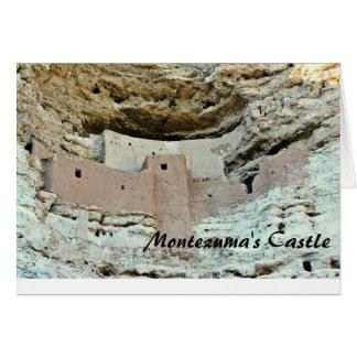 Montezuma's Castle Card
