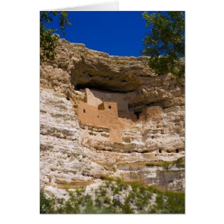 Montezuma's Castle National Monument Greeting Cards