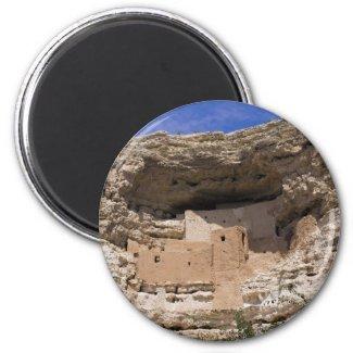 Montezuma's Castle National Monument Fridge Magnet