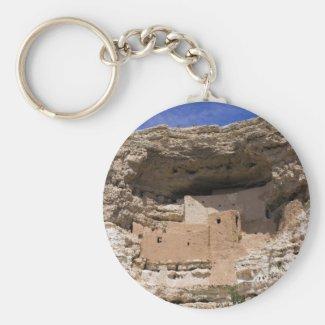 Montezuma's Castle National Monument Keychain