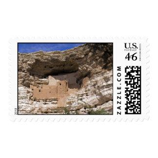 Montezuma's Castle National Monument Postage Stamp