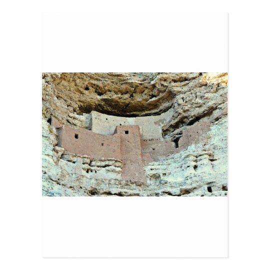 montezumas castle postcard