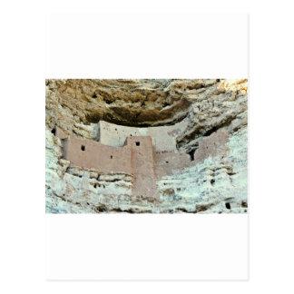 Montezuma's castle postcard