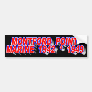 MONTFORD POINT MARINE BUMPER STICKER