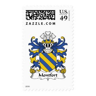 Montfort Family Crest Postage