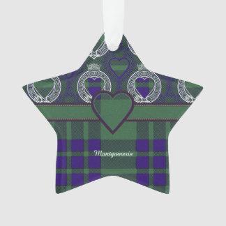 Montgomerie clan Plaid Scottish tartan