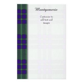 Montgomerie clan Plaid Scottish tartan Flyer