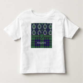 Montgomerie clan Plaid Scottish tartan Toddler T-shirt