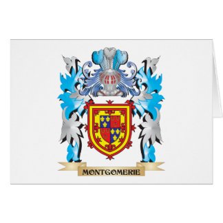 Montgomerie Coat of Arms - Family Crest Greeting Card