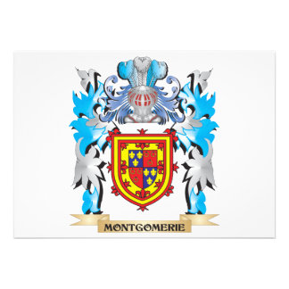 Montgomerie Coat of Arms - Family Crest Card