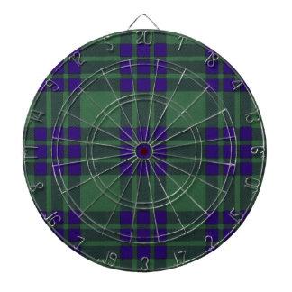 Montgomerie Scottish Tartan Dart Board