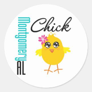 Montgomery AL Chick Sticker
