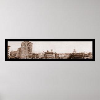 Montgomery, AL Square Photo 1916 Posters