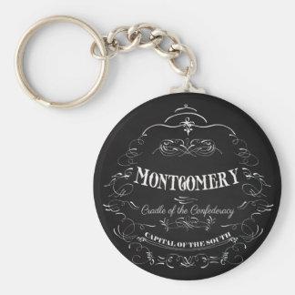 Montgomery Alabama - Cradle of the Confederacy Keychains