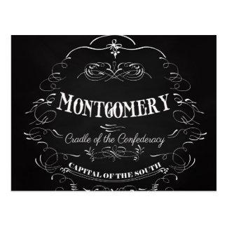 Montgomery Alabama - Cradle of the Confederacy Postcard