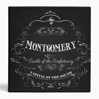 """Montgomery Alabama - cuna del Confederacy Carpeta 1 1/2"""""""