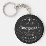 Montgomery Alabama - cuna del Confederacy Llaveros Personalizados