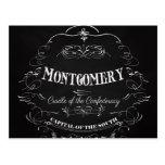 Montgomery Alabama - cuna del Confederacy Tarjeta Postal