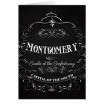Montgomery Alabama - cuna del Confederacy Tarjetón