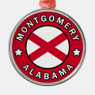 Montgomery Alabama Metal Ornament