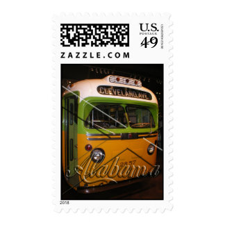 Montgomery, Alabama Postage Stamp