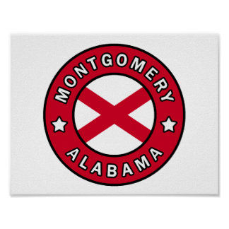 Montgomery Alabama Poster
